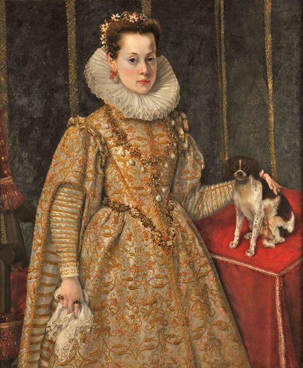 Federico Zuccaro, Portrait of Margaret of Savoy (1589-1655). Collection Thomas Leysen