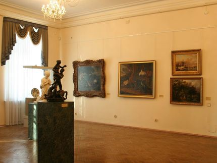 Room in the OMSK M.A. Vrubel Museum, Omsk, Russia