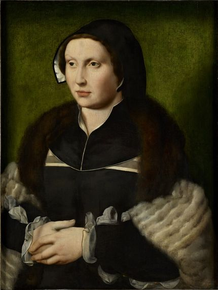 Joos van Cleve, Portrait of a Lady, The Bute Collection at Mount Stuart