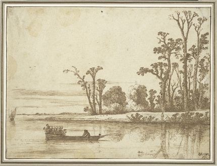 Cornelis Vroom, River Landscape. Maida and George Abrams Collection, Boston, Massachusetts