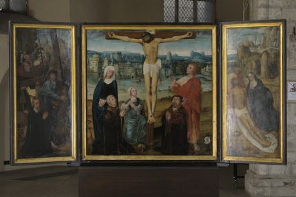 Workshop of the Bruges master Adriaen Isenbrandt, The Passion Altarpiece, ca. 1515-20 Art Museum of Estonia