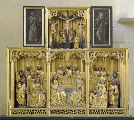 Brussels workshop, The Holy Kinship Altarpiece, ca. 1500. Art Museum of Estonia