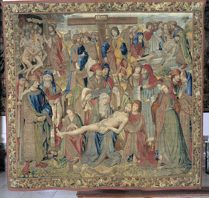 Lamentation of the Dead Christ, Brussels, 1st quarter of the 16th century (inv. 858)
