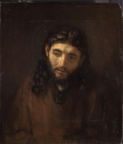 Rembrandt and studio, Head of Christ. Philadelphia Museum of Art, John G. Johnson Collection