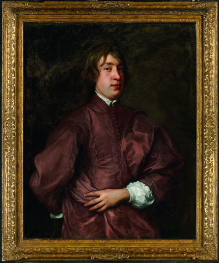 Anthony van Dyck, Portrait of Everhard Jabach. Musée du Louvre, on loan from a private collection