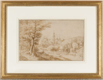 Anonymous (Flemish), Wooded landscape. Collection Thomas Leysen