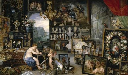 Jan (I) Brueghel, Sight.. Museo del Prado Madrid