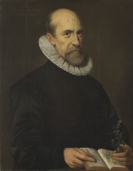 Dutch, possibly Circle of Michiel van Mierevelt, Portrait of a Botanist, 1629. Gift of Dr. Alfred R. Bader in honor of Wolfgang Stechow