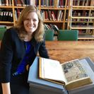 Foto: Elizabeth Morrison, Senior Curator of Manuscripts at the J. Paul Getty Museum